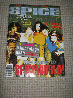 Spice Girls - Vintage 1990s Official Magazine Issue 4