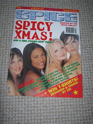 Spice Girls - Vintage 1990s Official Magazine Issue 8