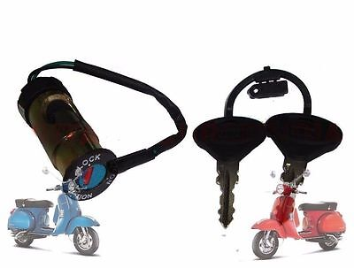 Vespa Px Lml Star Stella  Steering Look & Ignition Switch @aus