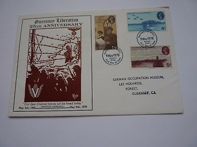 Guernsey Liberation 25th Anniversary 1970 FDC