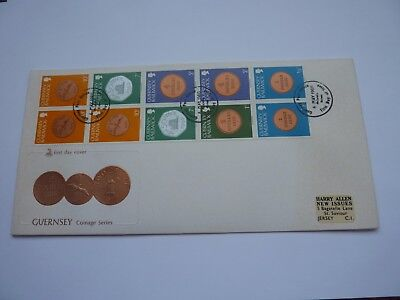 Guernsey Booklet Panes 1980 (05) FDC