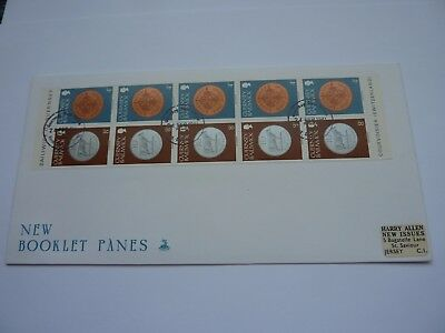 Guernsey Booklet Panes 1981 (02) FDC