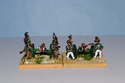 15mm Napoleonic painted Russian Foot Artillery  PM03