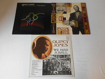 Jones, Quincy - Sammlung 3 LP's