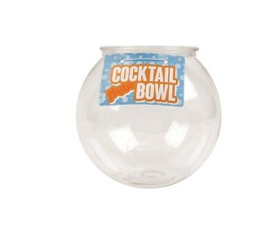 2 Litre Durable Plastic Cocktail Fish Bowl Party Drinks Punch Drinking Game