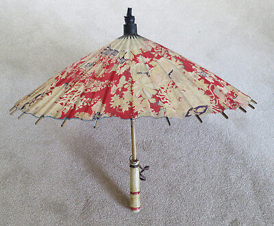 Vintage Sun Shade Umbrella Parasol   cloth material ideal for stage prop or film