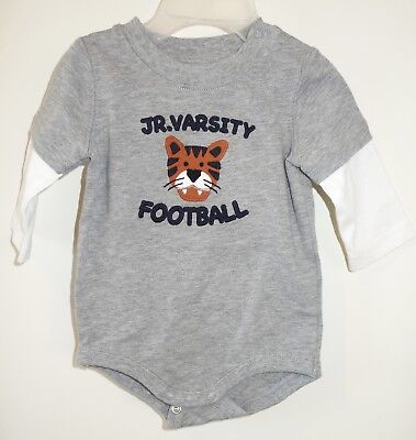 NWT Gymboree Little Rookie Jr. Varsity Football One Piece Shirt Size 0-3 Month
