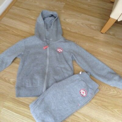 Girls Converse Grey Tracksuit age 5-6 years