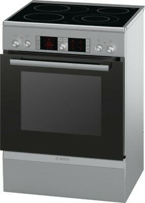 Bosch hca754850 Stainless Steel - Electric Freestanding Over, 60 cm wide with
