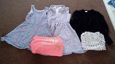 job lot of girls clothing age 9-10 years