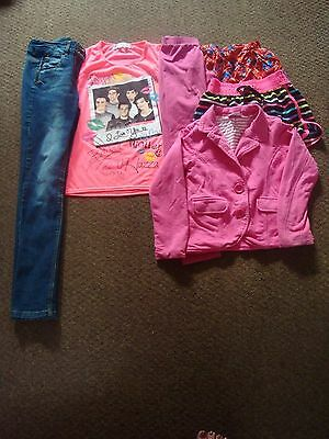 job lot of girls clothing age 11-12 years