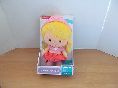 Fisher Price Princess Chime Doll Age 6 - 36 Months New