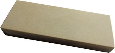 """Natural Combo Belgian Yellow Coticule 8x3"""" Sharpening Stone"""