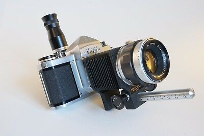 Asahi Pentax bellows unit with right angle finder – MINT -