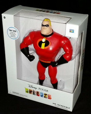 Disney Pixar Talking Mr Incredible In Gift Box - Brand New Christmas Gift