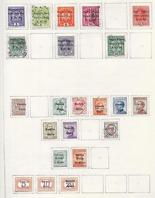 Venezia Giulia stamps Collection of 22 CLASSIC stamps HIGH VALUE!