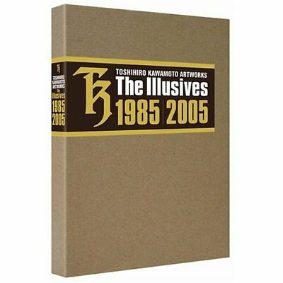 Toshihiro Kawamoto Art works The Illusives I II  Book The Illusives 1985 2005