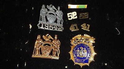 New York City police Chief of patrol  Presentation Retirement Badge  obsolete .