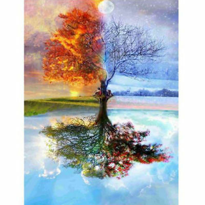 "Diamond Painting - Diamant Malerei - Stickerei - ""Baum"" Set Neu (739)"