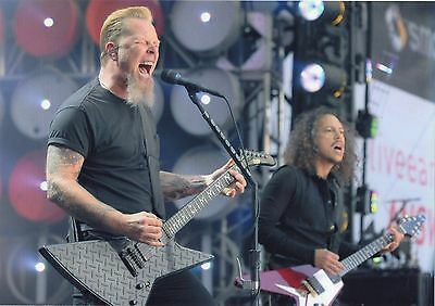Metallica Photo Unique Image Unreleased Huge 12 Inch Gem 2007 Exclusive Photo