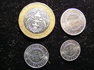 Cambodia 1994 - 4 Different Uncirculated Coins