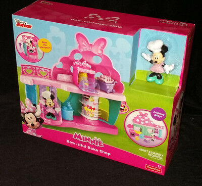Disney Junior Minnie Mouse Bow-Tiful Bake Shop - Playset - Brand New -Xmas Gift
