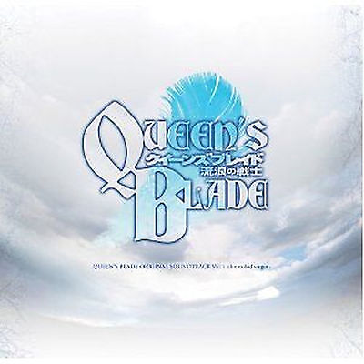 QUEEN'S BLADE ANIME Music SOUNDTRACK CD Japanese Vol.1