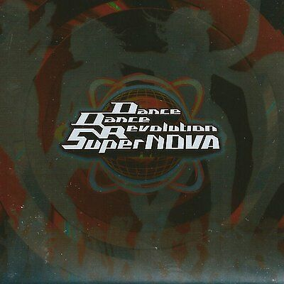 Dance Dance Revolution Game CD Music soundtrack SuperNOVA Original Soundtrack