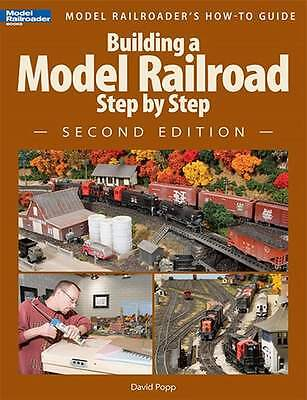 Kalmbach Book Building A Model Railroad Step By Step Second Edition