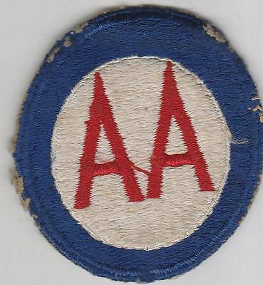 WW 2 US Army Anti-Aircraft Command Patch Inv# JQ1083