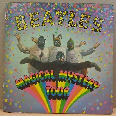 The Beatles Magical Mystery Tour Original Uk Parlophone 2X45 + Booklet 1/1/1/2