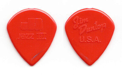 Joe Bonamassa Concert-Used Dunlop Jazz III Molded Red Guitar Pick - 2011 Tour