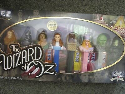 Pez candy dispensers, never used new in original package WIZARD OF OZ characters