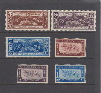 A very nice old unused Egypt 1930's group of issues