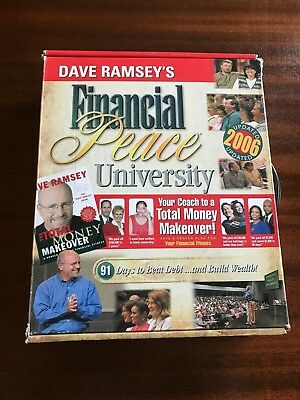 NEW Dave Ramsey FINANCIAL PEACE UNIVERSITY Kit 2006 Book CD's Envelope System