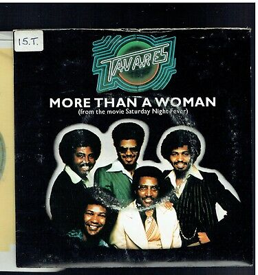 Tavares More Than A Woman Ps 45 1977