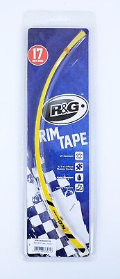 R & G Wheel Stripes - 16-Piece Modular Motorcycle Rim Tape - yellow
