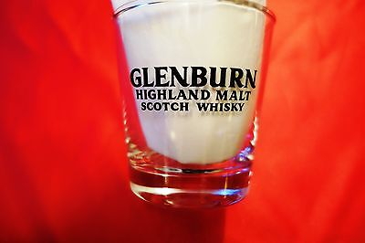 Glenburn Highland Malt Scotch Whisky Glass  Vinatge 1980's  Rare
