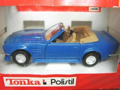 POLISTIL (ITALY) 1/25 scale ASTON MARTIN DB OPEN TOP VANTAGE LHD MINT/BOXED