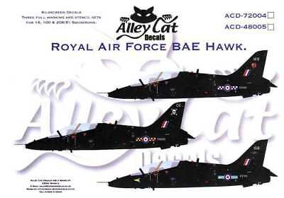 1/48 Alley Cat Decals BAE HAWK Royal Air Force *MINT*