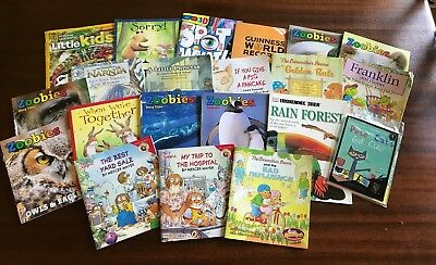 Lot of 21 Childrens Chick Fil A Books animals science nature berenstain bearmore