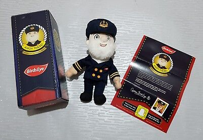 Golden Jubilee Captain Birds Eye Doll Soft Toy Rare Limited Edition Boxed New