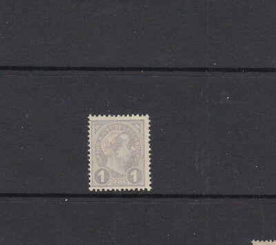 A very nice old unused Luxembourg 1 Cent Grey 1895 issue