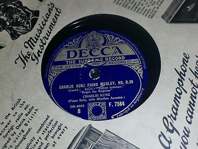 """Collection of 11x VARIOUS 10"""" 78RPM Gramophone Records Male Dance MGM etc"""