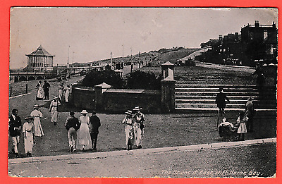 Unposted pre 1918. The Downs and East Cliff, Herne Bay, Kent