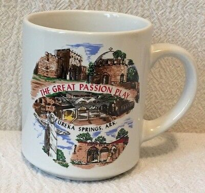 The Great Passion Play Coffee Mug Eureka Springs Arkansas