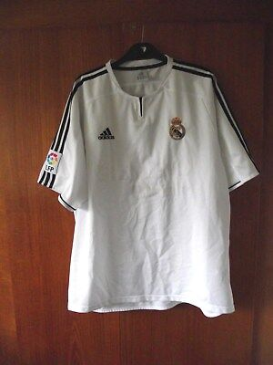 Real Madrid Football Shirt adidas home 2004 size XL 44/46