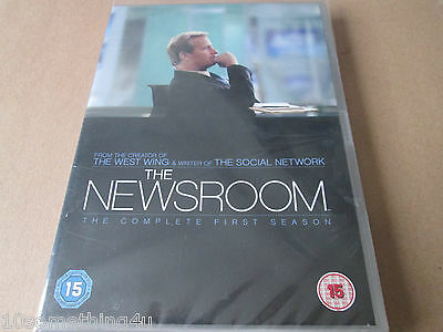 The Newsroom - Series 1 - Complete (DVD, 4-Disc Set) NEW AND SEALED REGION TWO