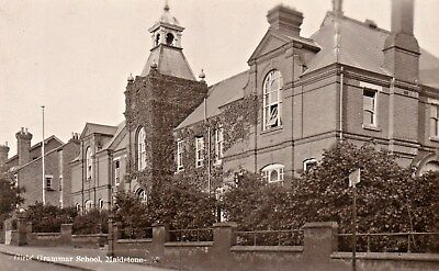 Maidstone,The Girls Grammar School,Photographic Postcard.See Scans