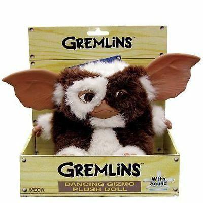 "New NECA Dancing Singing 8"" Gizmo Gremlins Plush Toy Mogwai SO CUTE!!!"